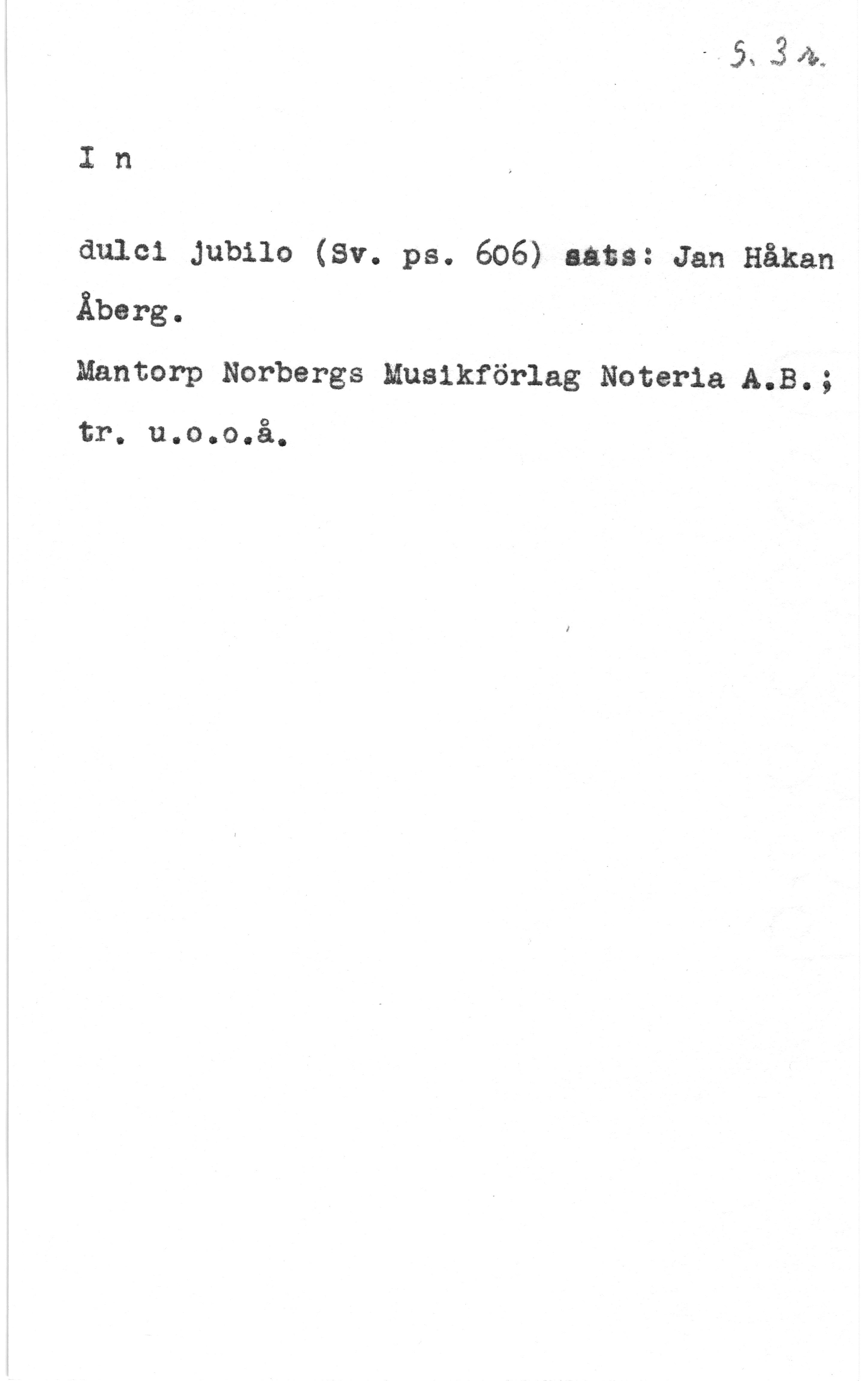 15124 Åberg, Jan Håkan